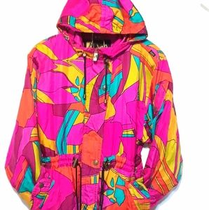 Vintage Luxury SKEA Paris Vail Bright Ski Jacket